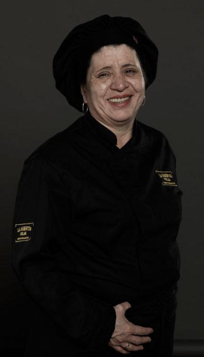 Luz Marina Pulgarín | Ayudante de cocina.